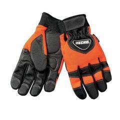 Echo / Shindaiwa 99988801600 ECHO Chainsaw Gloves (Orange/Black) - Medium