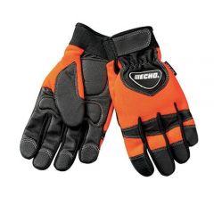 Echo / Shindaiwa 99988801601 ECHO Chainsaw Gloves (Orange/Black) - Large