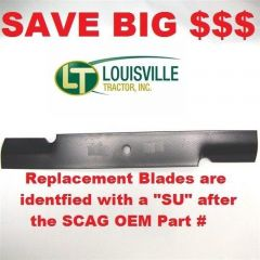 """48"""" Scag Mower Deck Blade, Cutter 16.5"""" Aftermarket Scag Mower Blades that are made to Scag OEM Specifications - Replaces 482877 Scag OEM Blade."""