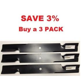 """3 Pack of 48"""" Scag Mower Deck Blade, Cutter 16.5"""" Aftermarket Scag Mower Blades that are made to Scag OEM Specs - Replaces 482877 Scag OEM Blade."""