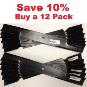 "12 pack of 61"" Scag Mower Deck Blades, Cutter 21"" Aftermarket Scag Mower Blades that are made to Scag OEM Specifications - Replaces 482879 Scag OEM"