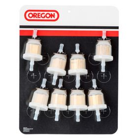 Oregon 69-510 FUEL FILTERS, CARDED, QTY = 8 OF 07-103