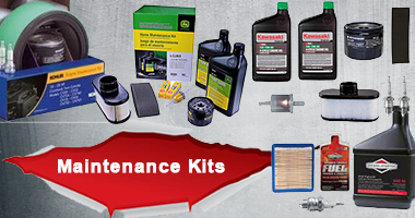 Tune up kits available from John Deere, Kawasaki, Echo, Briggs, Kohler and more.