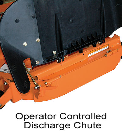 Operator Controlled Discharge Chute