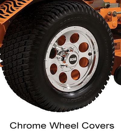 Scag Chrome Wheel Covers