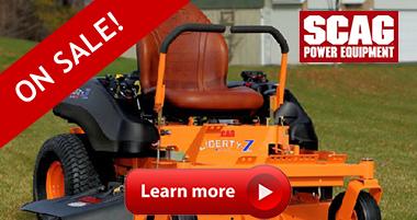 Louisville Tractor is your source for Scag Mowing Equipment in Louisville KY and surrounding counties.