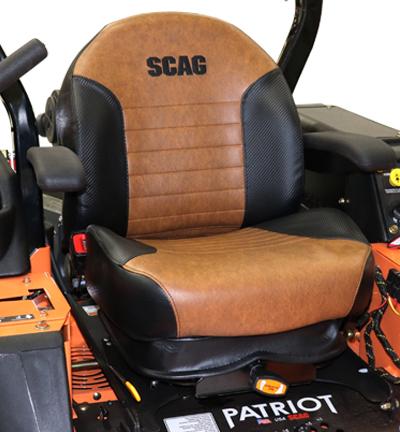 New Scag Patriot Seat