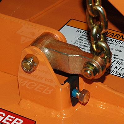 Deck-Leveling Adjustment Bracket