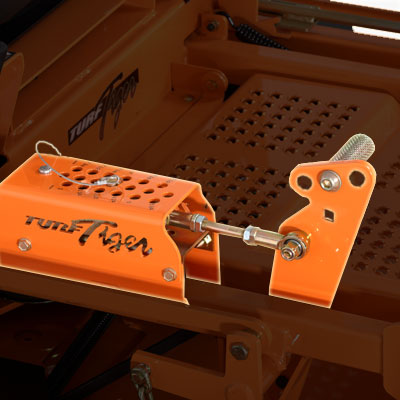 Scag Turf Tiger Foot Pedal and Deck Adjust